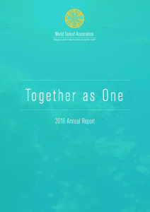 Together as One - WSA Annual Report 2016